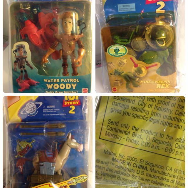 絕版拆售1999-2000年特別版👴玩具總動員