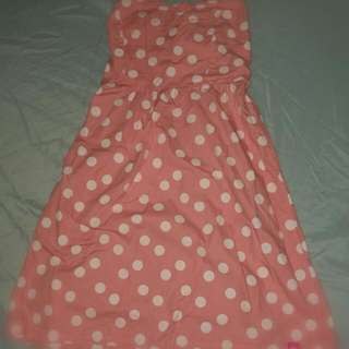 Polka-dots Tube Dress