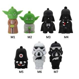 Star Wars Characters Thumbdrives