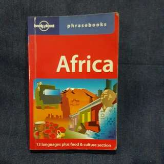 Africa: Lonely Planet Phrasebook
