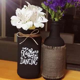 Personalised Vase/ Cutlery Holder