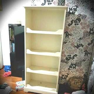 Preloved 4 tier Bookshelf