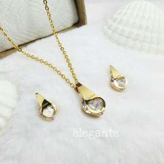 Cartier Pointed Heart Set