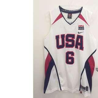 Nike Lebron James奧運6號美國隊球衣