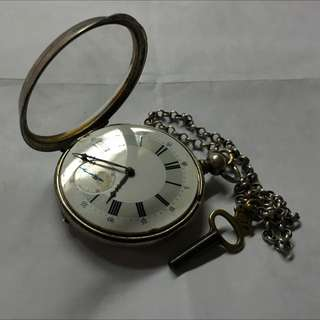 Rare Antique Locle Pocket Watch