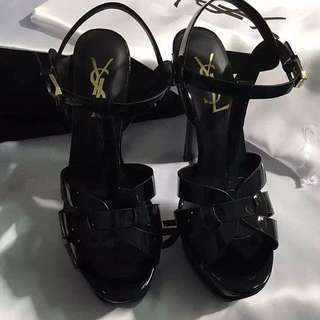 Authentic YSL Black Shoes/heels