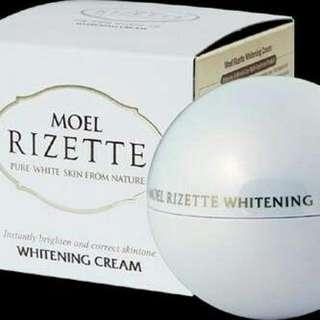Moel Rizette Whitening Cream