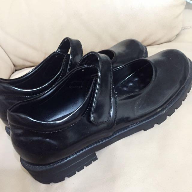 古著9.99999成新皮鞋