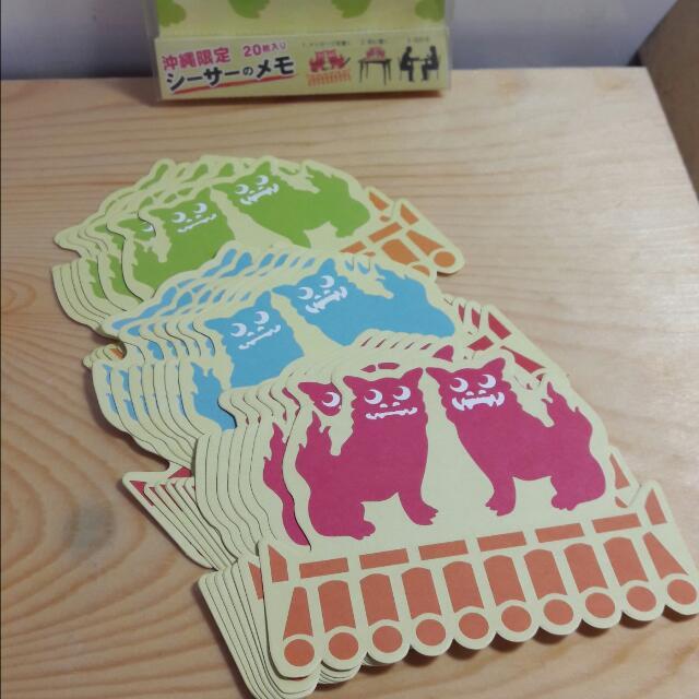 沖繩限定 造型便條紙