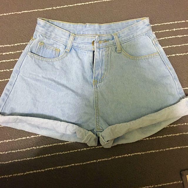 牛仔短褲 s