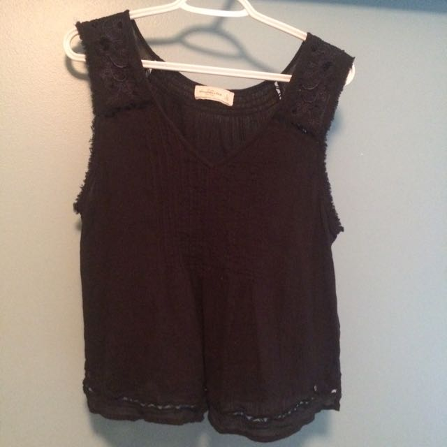 Abercrombie Sleeveless Blouse