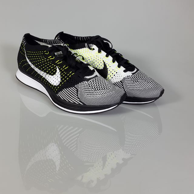 Auth Nike Flyknit Racer Orca 2.0