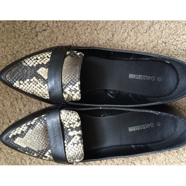 Bsummer Shoes lack flat size 10