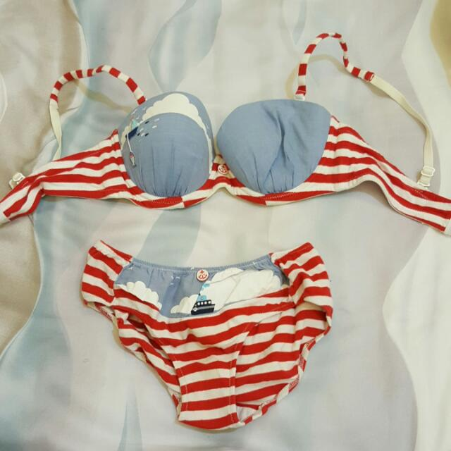 Bra Set Young Hearts