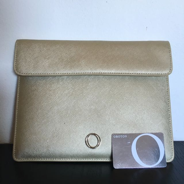 brand New Never Used OROTON Envelope Clutch