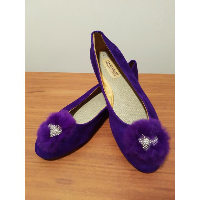 Brand New Purple Flats