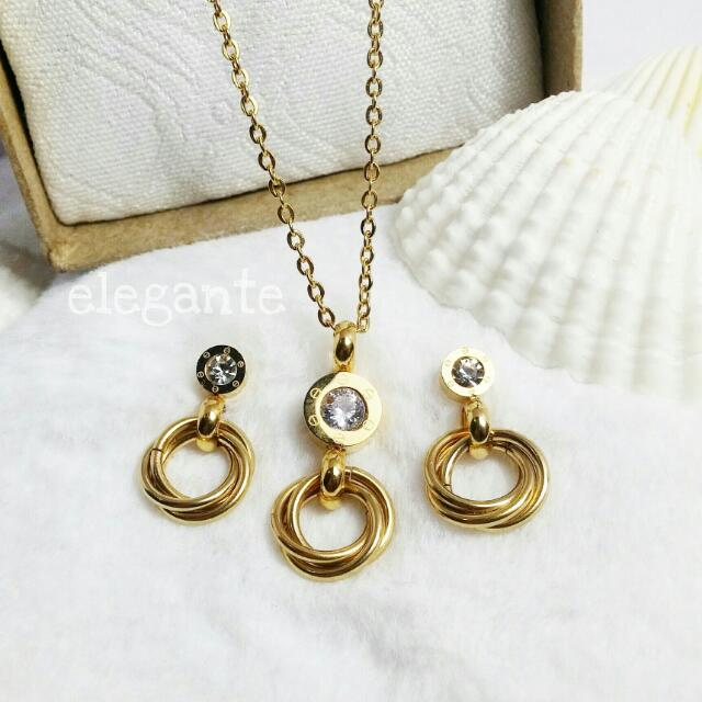 Cartier Inspired Triple Loop Set Womens Fashion Jewelry On Carousell