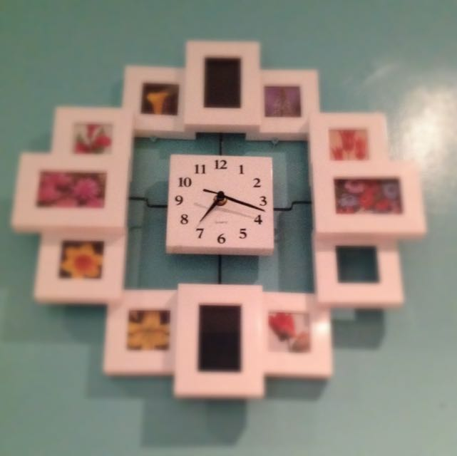 Clock/picture Frame