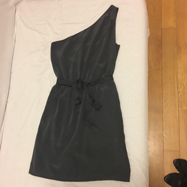 Club Monaco One Strap Silk Dress