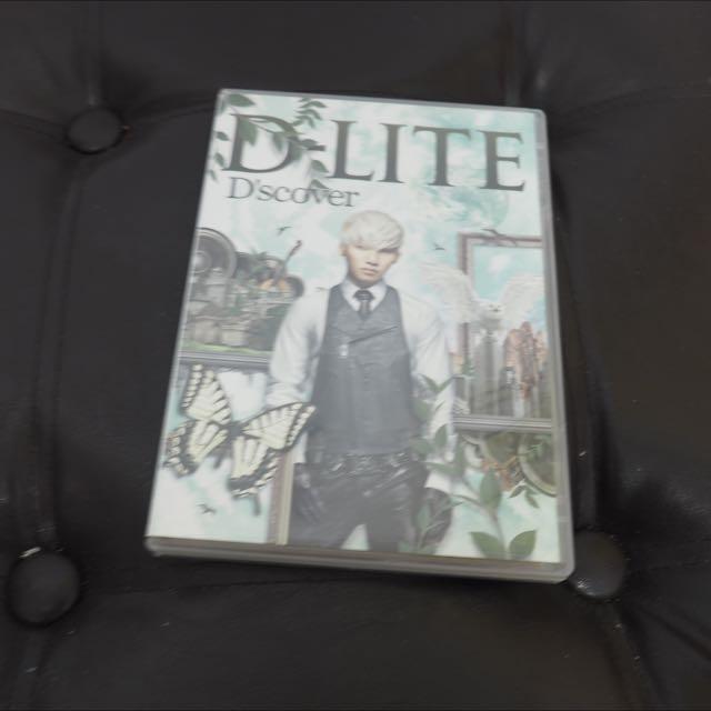 DVD Dlite Dscover (Daesung)