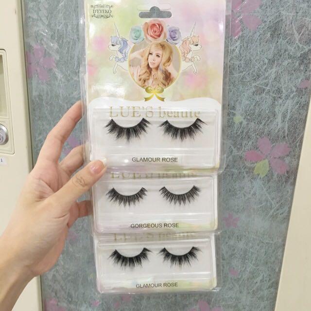 eyelash lulue blogger