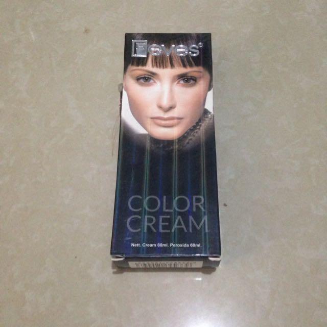 Feves Color Cream (cat rambut warna 4.3 coffee)