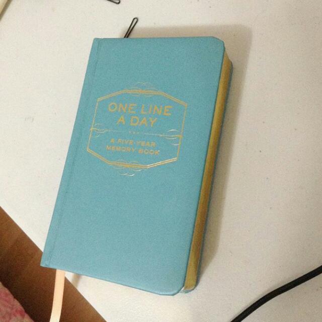 Five year memory book