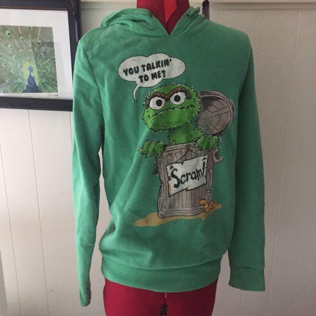 Green Sesame Street Jumper