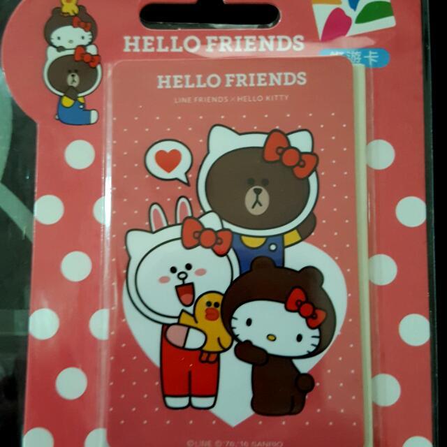 HELLO   FRIENDS 悠遊卡-好朋友
