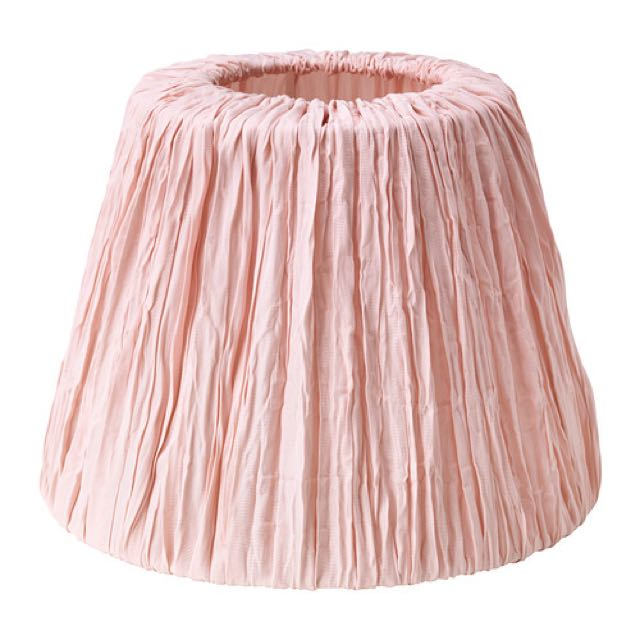 IKEA Hemsta Lamp shade In Pink