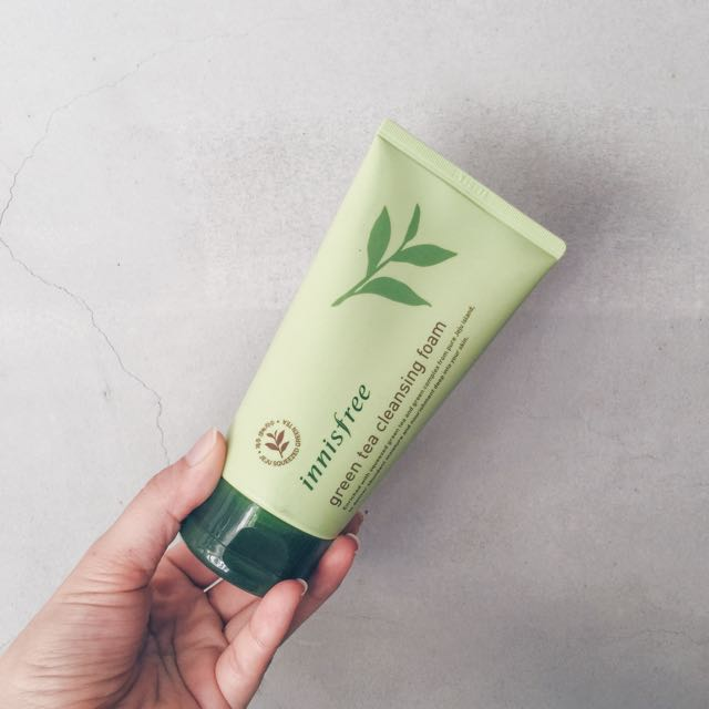 innisfree green tea cleansing foam洗面乳