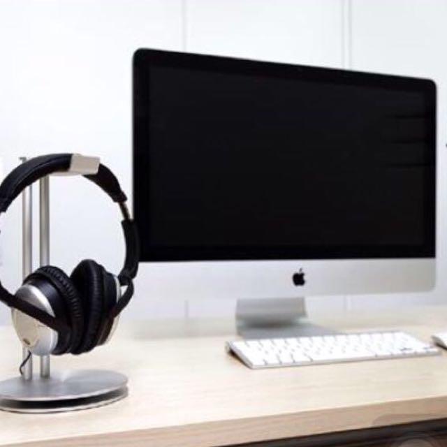 Just Mobile 鋁合金耳機架 質感設計