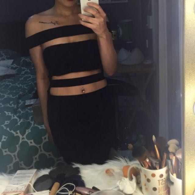 kylie jenner dress cut out