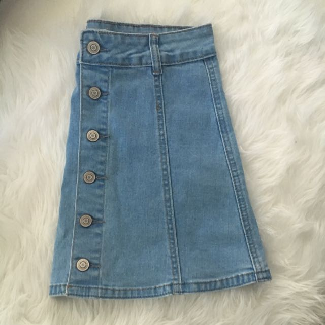Light Denim Skirt Size 6