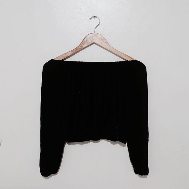 Longsleeves Off Shoulder Top
