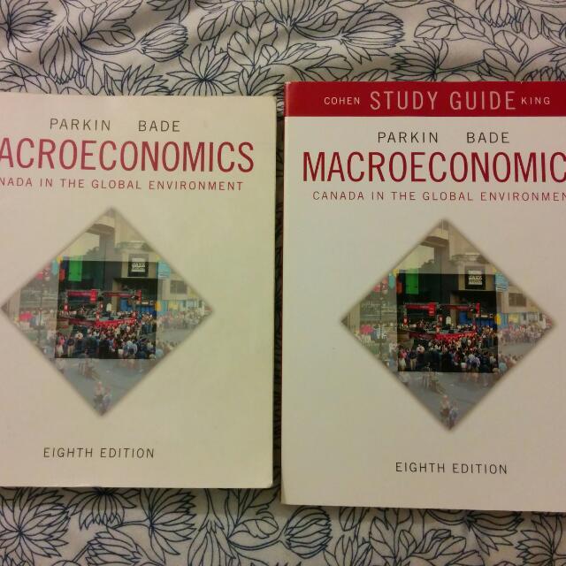 Macroeconomics 8th Edition + Study Guide