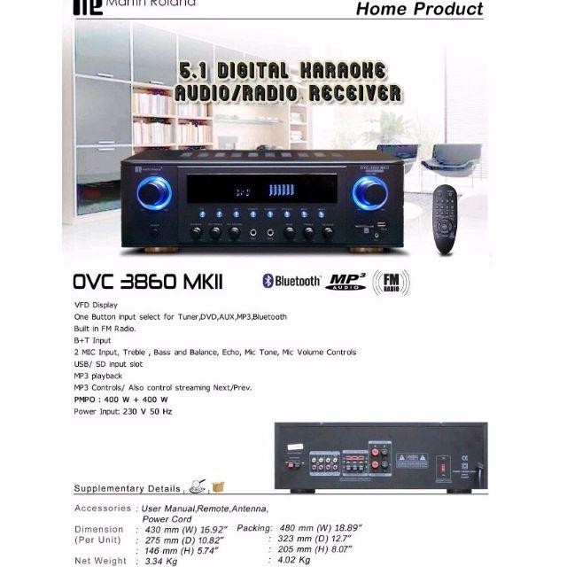 Martin Roland OVC3860MKII, Home Appliances, TVs