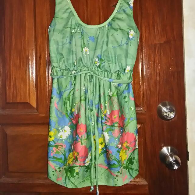 Mini Floral Dress 😊