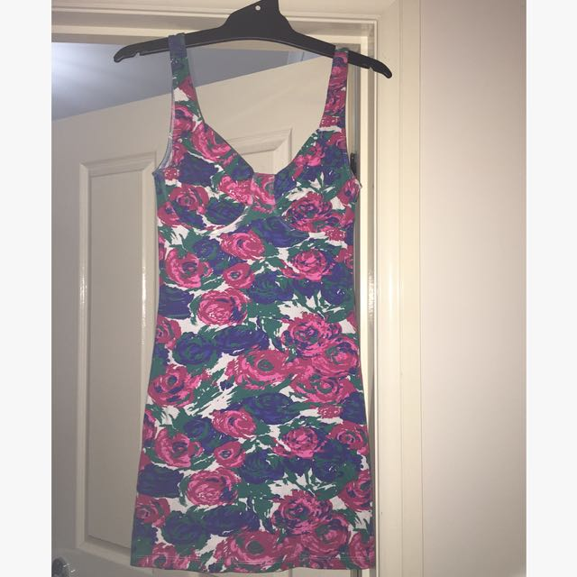 Mink Pink Floral Dress