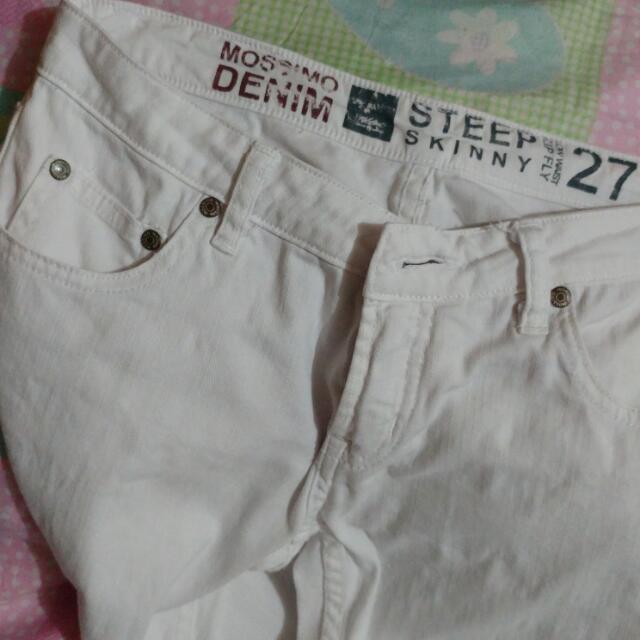 Mossimo White Pants