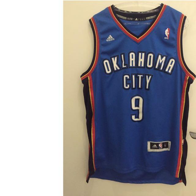 NBA Oklahoma City Thunder雷霆隊9號IKABA球衣