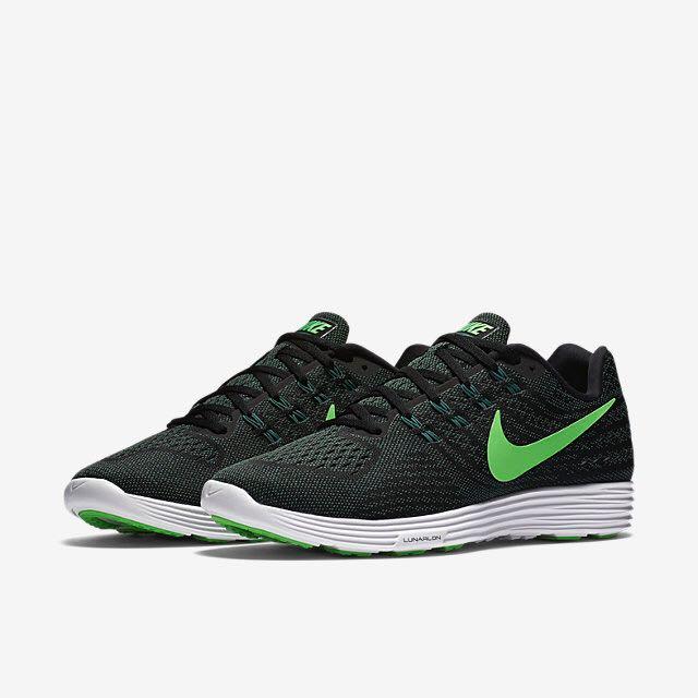 uk availability 7fbf1 46e01 Nike Lunartempo 2 (Men) - Black/Green Stone/White/Rage Green