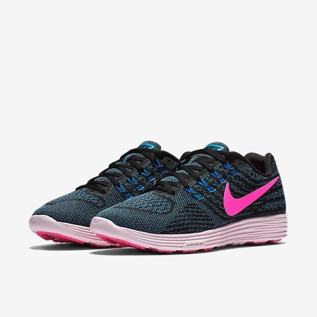 meet 13309 01e3e Nike Lunartempo 2 (Women) - Fuchsia Green/Pink