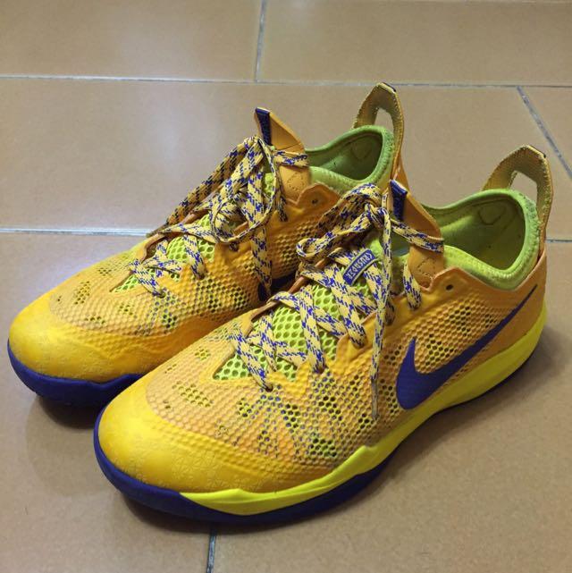 Nike Zoom Crusader 湖人紫金配色