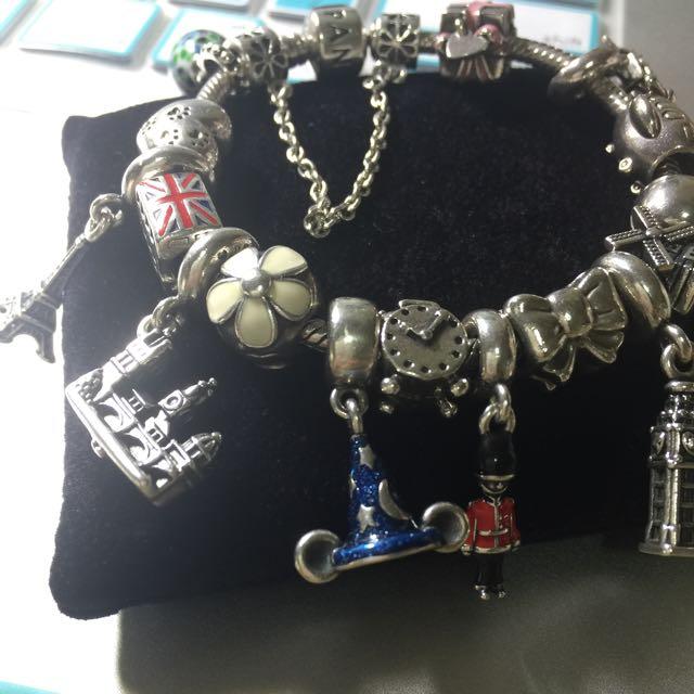 Pandora米奇魔法帽串飾