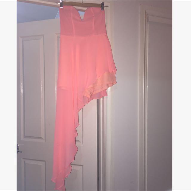 Peach Dress/Jumpsuit