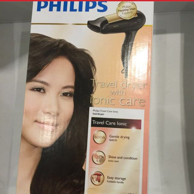 PHILIPS(Travel Dryer With Ionic Care)