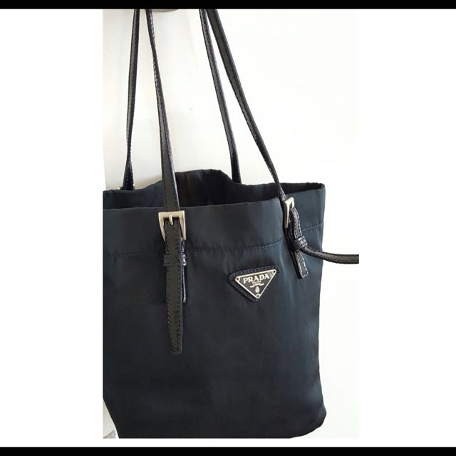332b88357c ... reduced prada nylon handbag luxury bags wallets on carousell 151fc 3eb8f