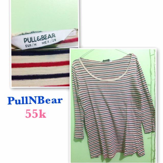 Pull N Bear Stripe Shirt