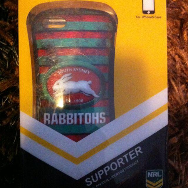 Rabbitohs South Sydney iPhone 5 Case